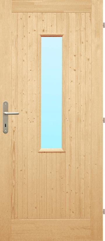 BATTENED DOORS. PALUBKOVÉ - vzor C (s prosklením) & DOORS